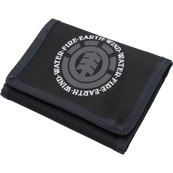 Element Skateboards Original Elemental Black Wallet