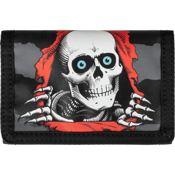 Powell Peralta Ripper Black Velcro Wallet