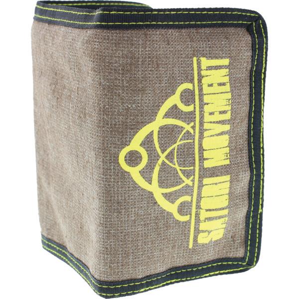 Satori Movement Half Link Sand Trifold Wallet