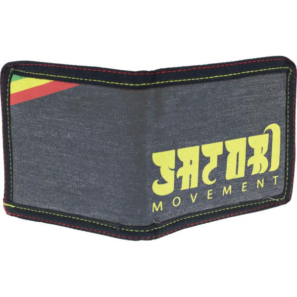 Satori Movement Ras Stripes Denim Bifold Wallet