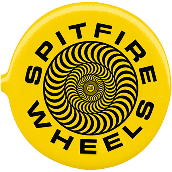 Spitfire Wheels Coin Pouch Classic 87' Swirl Yellow / Black Wallet