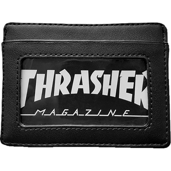 Thrasher Magazine Card Black Wallet