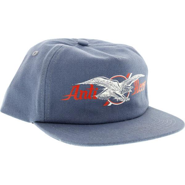 Anti Hero Skateboards Air Mail Postal Blue Hat - Adjustable