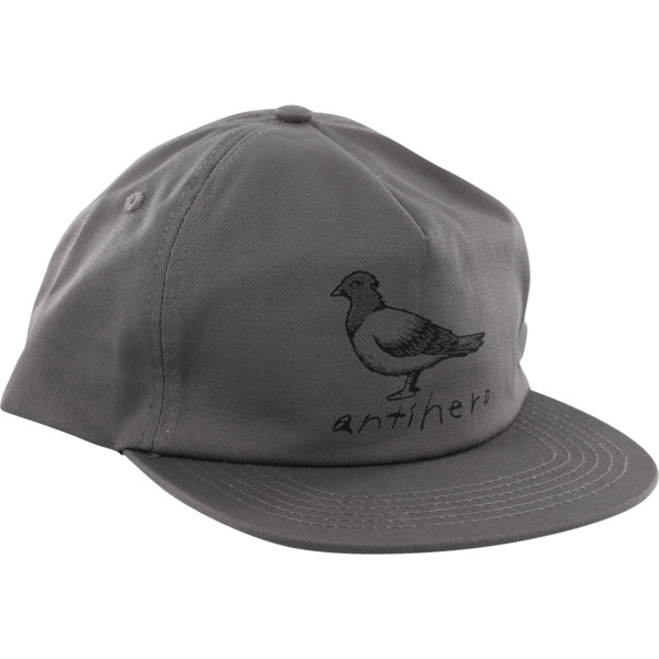Anti Hero Skateboards Basic Pigeon Grey Hat - Adjustable