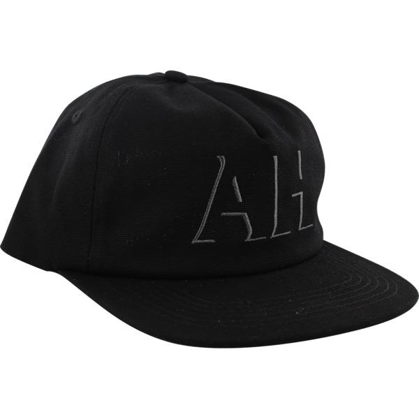 Anti Hero Skateboards Drophero Black / Grey Hat - Adjustable
