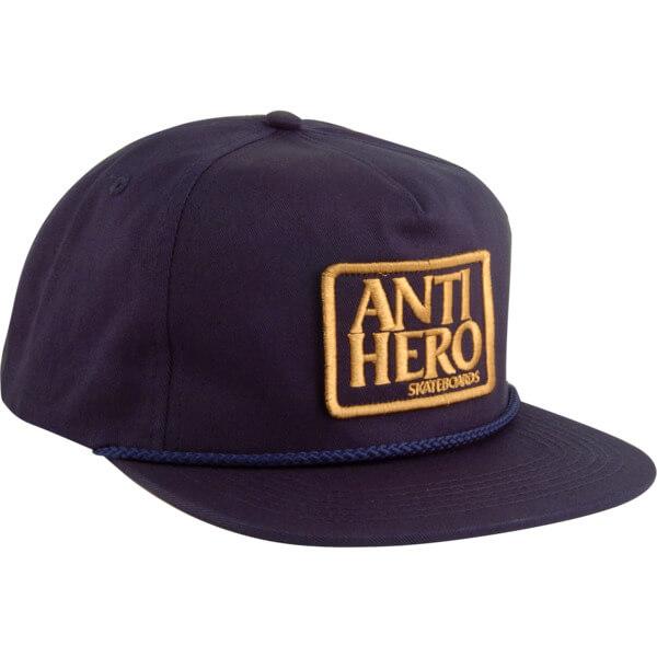 Anti Hero Skateboards Reserve Patch Navy Mesh Trucker Hat - Adjustable -  Warehouse Skateboards 3cc0d5f8879
