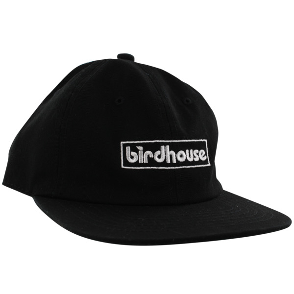 Birdhouse Skateboards Bar Logo Black / White Hat - Adjustable