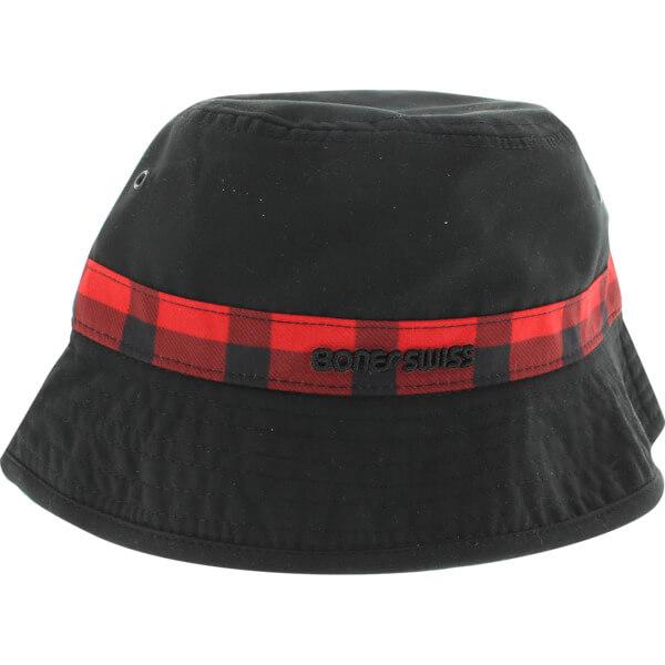 Bones Bearings Swiss Plaid Bucket Hat