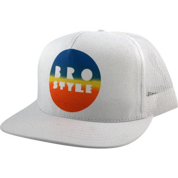 Bro Style Color Fade Mesh Trucker Hat