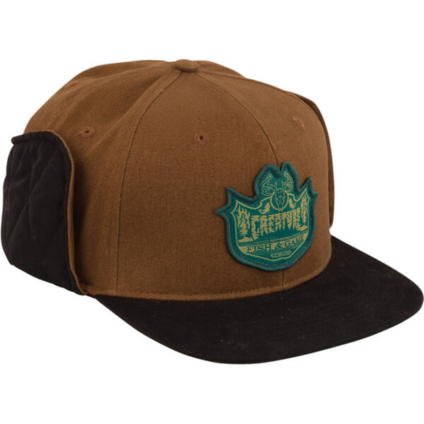 Creature Skateboards Bobber Brown Fitted Hunting Hat - Small   Medium -  Warehouse Skateboards 37d352e4835