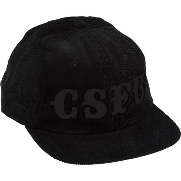 Creature Skateboards CSFU Support Black Cord Snapback Hat - Adjustable