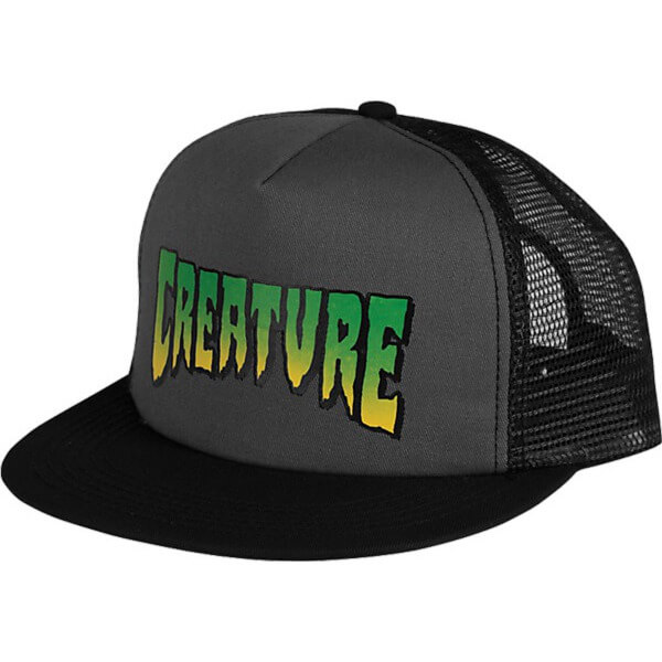 Creature Skateboards Logo Mesh Trucker Hat