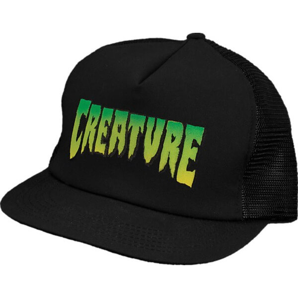 Creature Logo Mesh Trucker Hat