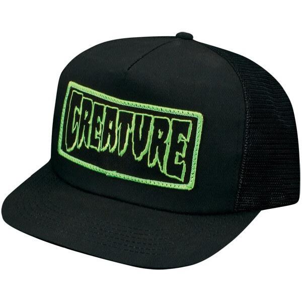 Creature Patch Mesh Trucker Hat