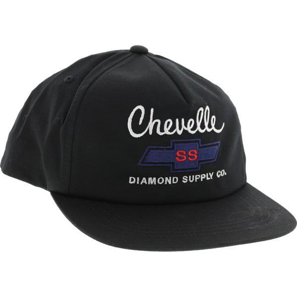 Diamond Supply Co X Chevy Chevelle Big Block Black Hat - Adjustable