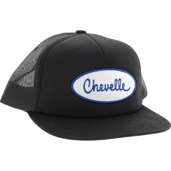 Diamond Supply Co X Chevy Chevelle Patch Black Mesh Trucker Hat - Adjustable