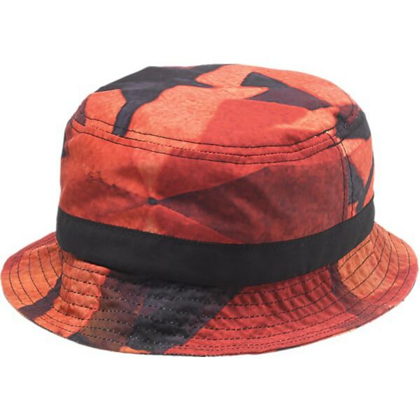 2a541b4c5d8 Diamond Supply Co Simplicity Red Bucket Hat - Large   X-Large - Warehouse  Skateboards