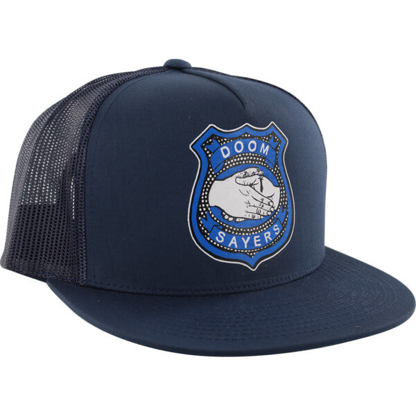 Doomsayers Club Corp Guy Navy Mesh Trucker Hat - Adjustable