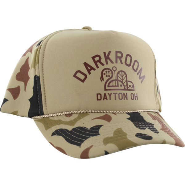 Darkroom Hunter Hat Walnut Beige Camo Hat - Adjustable