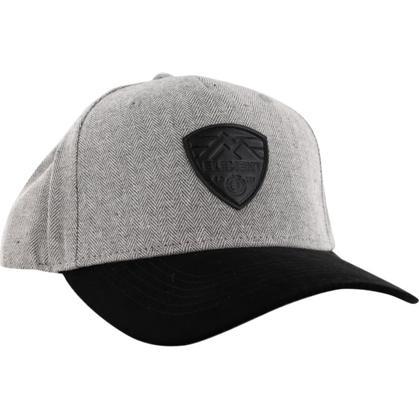 7e65a9a95 Element Skateboards Camp III Dark Grey Hat - Adjustable - Warehouse ...