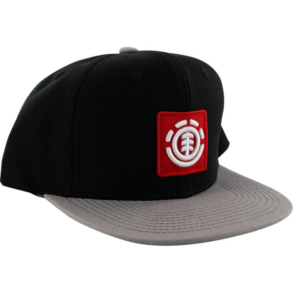 Element Skateboards United Black / Grey Hat - Adjustable