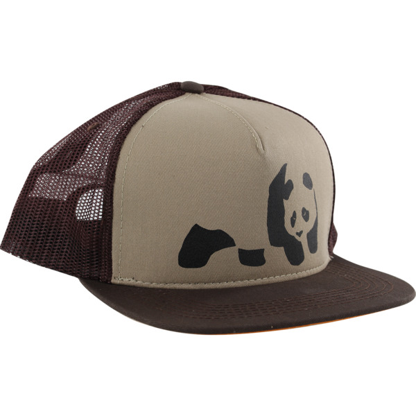 Enjoi Skateboards Panda Brown Hat - Adjustable