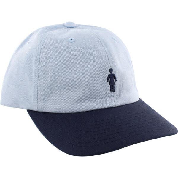 Girl Skateboards OG Micro Blue   Navy Hat - Adjustable - Warehouse  Skateboards 20305be9895