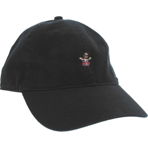 Grizzly Grip Tape Thizzly Bear Black Dad Hat - Adjustable - Warehouse  Skateboards 7f078f514633