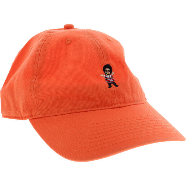 Grizzly Grip Tape Thizzly Bear Orange Dad Hat - Adjustable - Warehouse  Skateboards fcfc6f60fd63