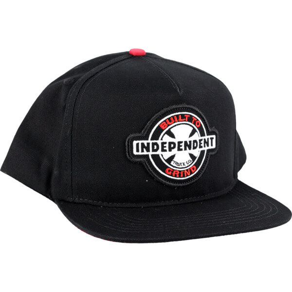 Independent 95 Built to Grind Black Hat - Adjustable - Warehouse Skateboards 4d628881a8a8