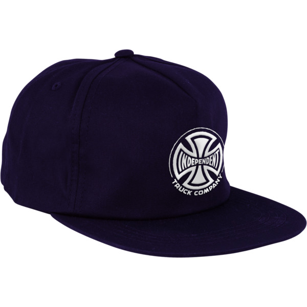 Independent Truck Co. Embroidery Navy Strapback Hat - Adjustable