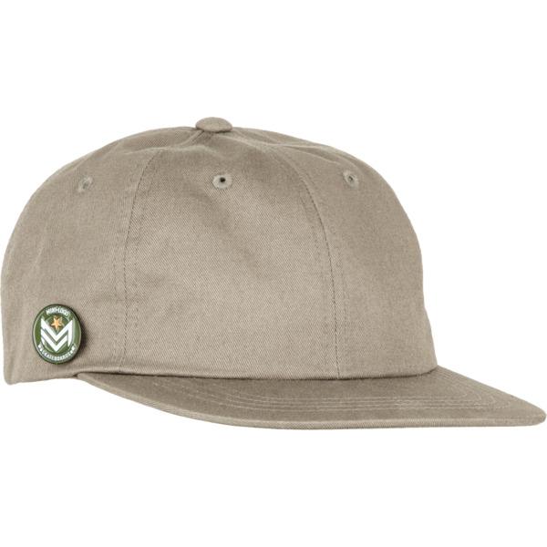 Mini Logo Circle Pin Pale Khaki Hat - Adjustable
