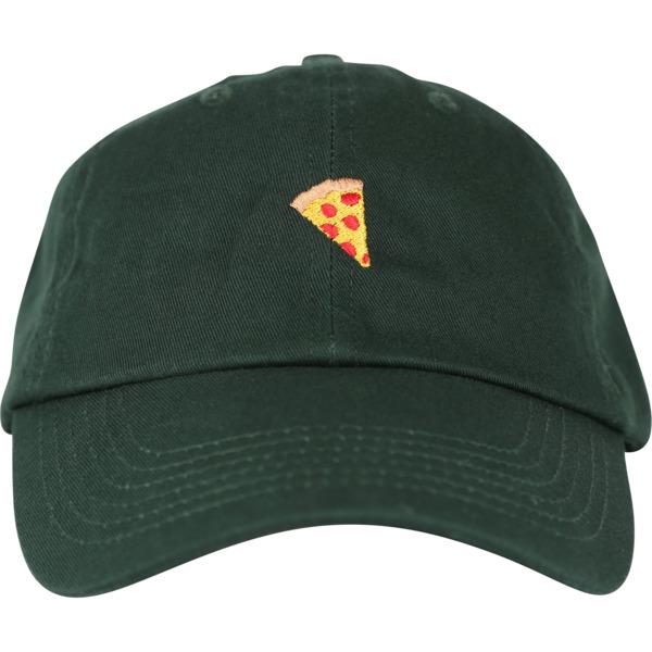 Pizza Skateboards Emoji Delivery Green Hat - Adjustable
