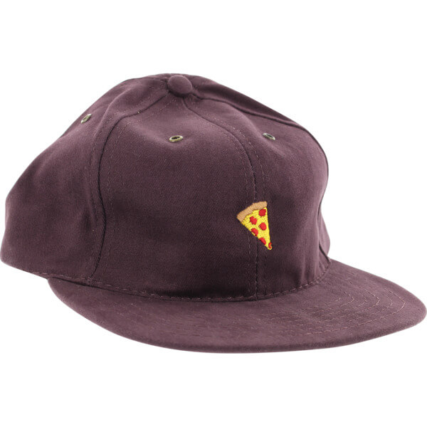 Pizza Skateboards Mac Daddy Emjoi Plum Hat - Adjustable