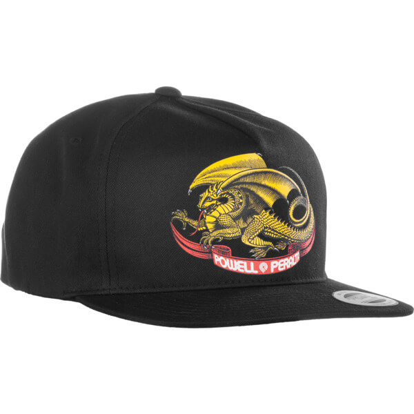 Powell Peralta Oval Dragon Black Hat - Adjustable