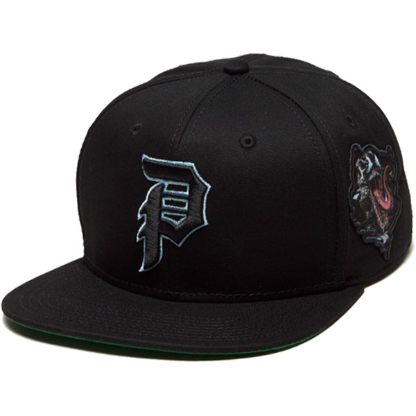 Primitive Skateboarding Marvel Venom Black Hat - Adjustable