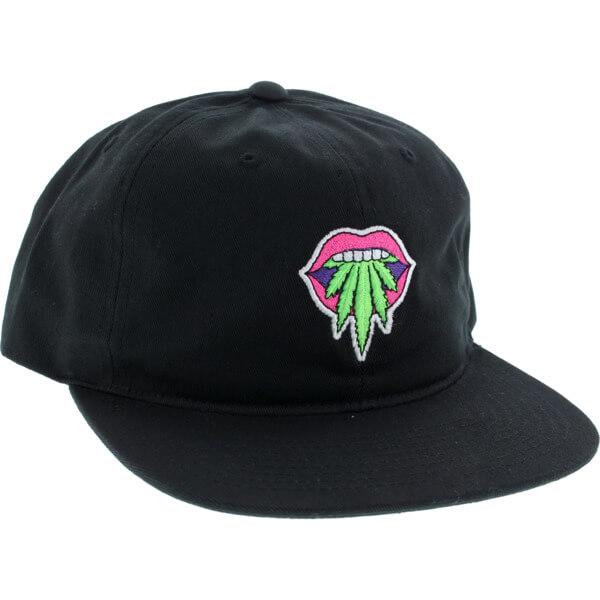 b3fb3157262 Primitive Skateboarding Taste Buds Black Snapback Hat - Adjustable -  Warehouse Skateboards
