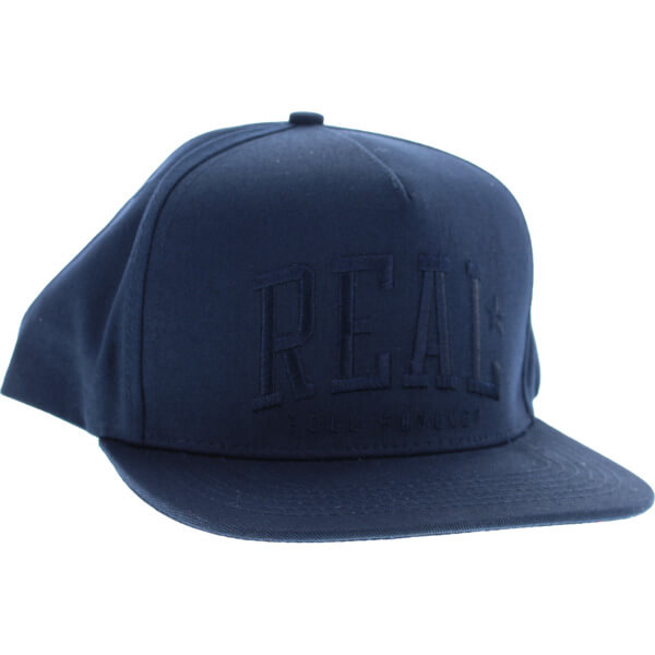 Real Skateboards Underclass Navy Hat - Adjustable