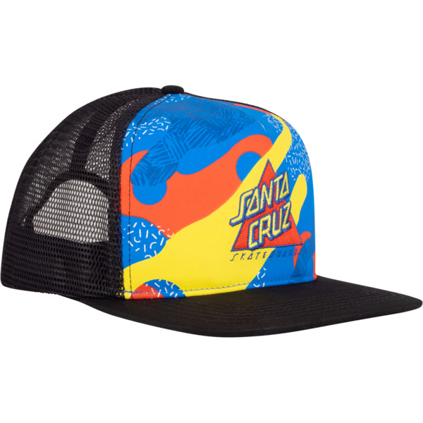 Santa Cruz Skateboards Not A Dot Mesh Trucker Hat