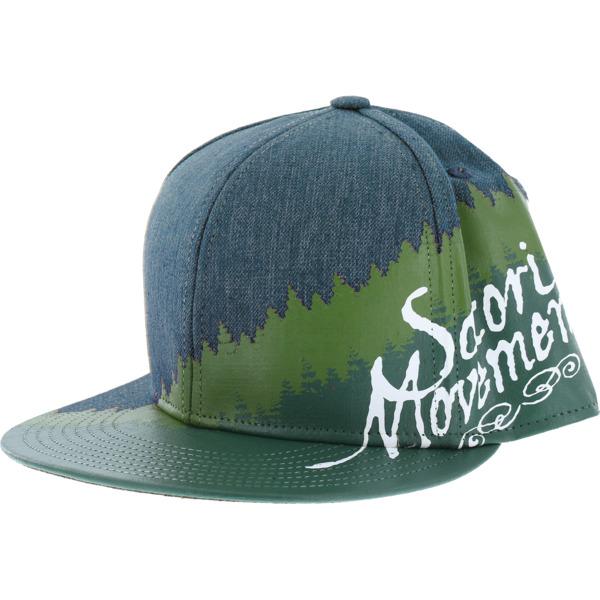 Satori Movement Tree Line Denim Hat - Adjustable