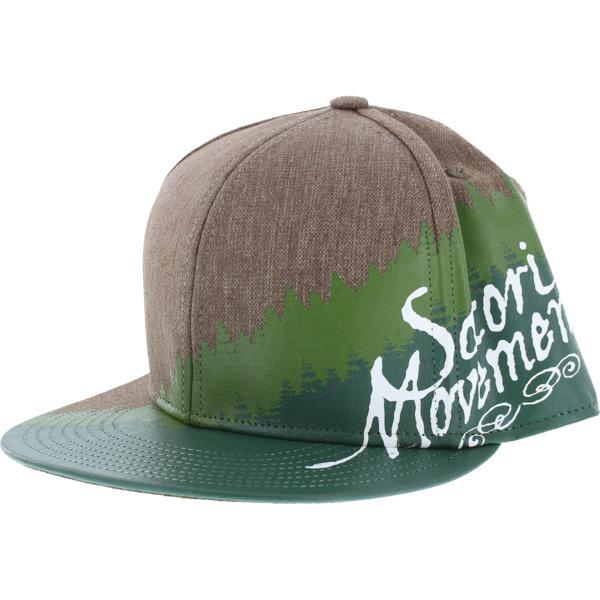Satori Movement Tree Line Dark Sand Hat - Adjustable