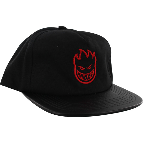 Spitfire Wheels Bighead Coated Bill Black / Red Hat - Adjustable