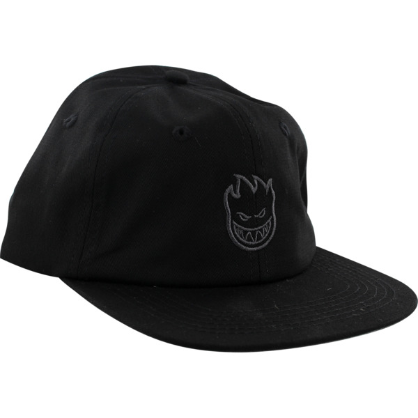 Spitfire Wheels Lil Bighead Swirl Black / Grey Strapback Hat - Adjustable