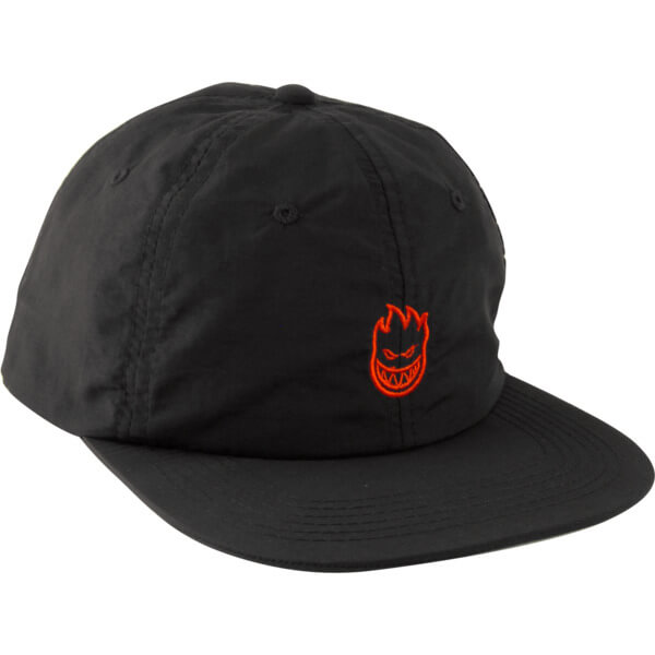 387aa74681a Spitfire Wheels Lil Bighead Black   Red Snapback Hat - Adjustable -  Warehouse Skateboards