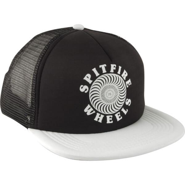 dae726a89cb Spitfire Wheels OG Classic Black   White Mesh Trucker Hat - Adjustable -  Warehouse Skateboards