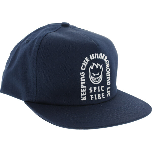 Spitfire Wheels Steady Rockin Navy Hat - Adjustable