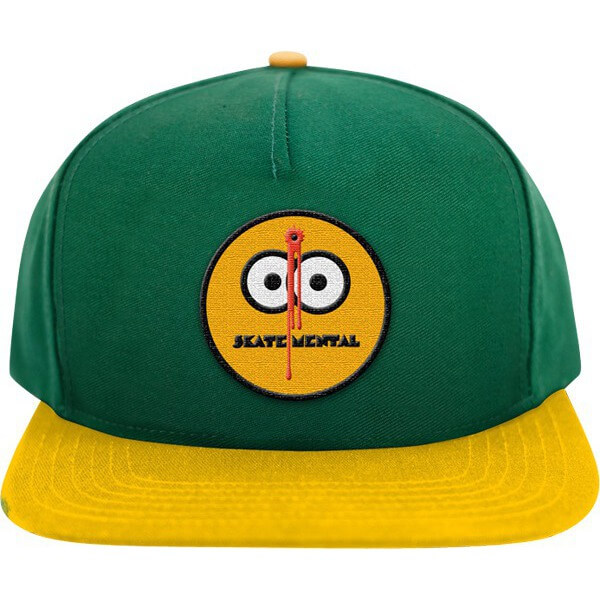 Skate Mental Smiley Shot Hat