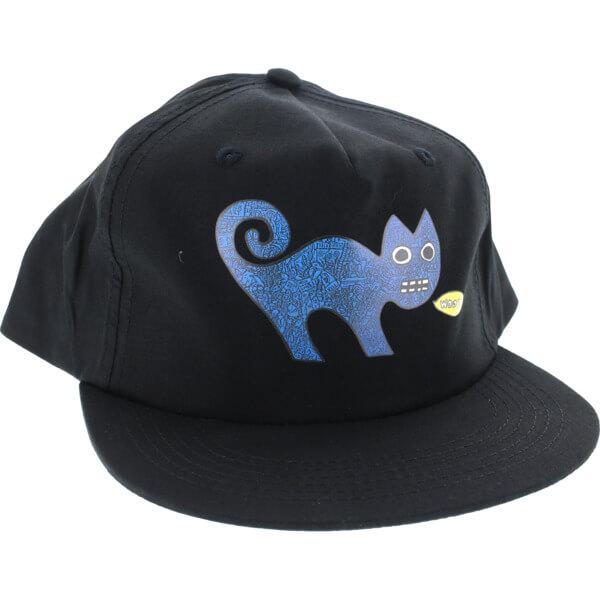 Toy Machine Skateboards Templeton Cat Black Snapback Hat