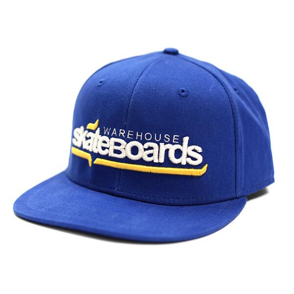 Warehouse Skateboards Logo Snapback Hat