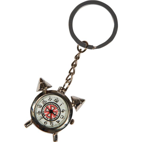 Independent TTG Clock Chrome Keychain